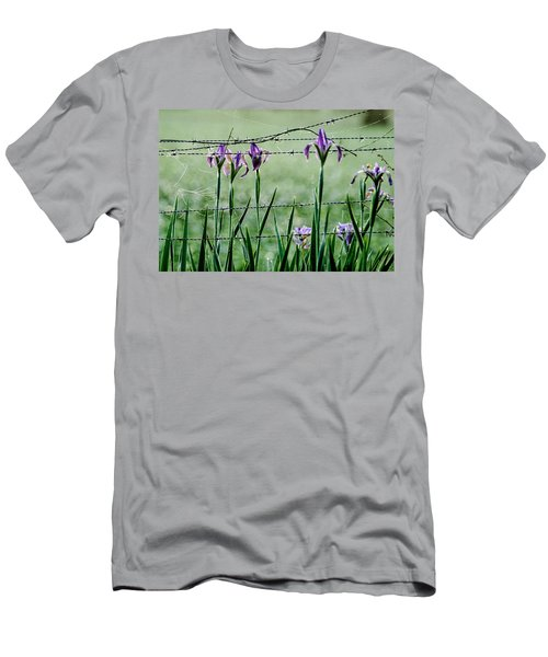 Irises  Men's T-Shirt (Athletic Fit)