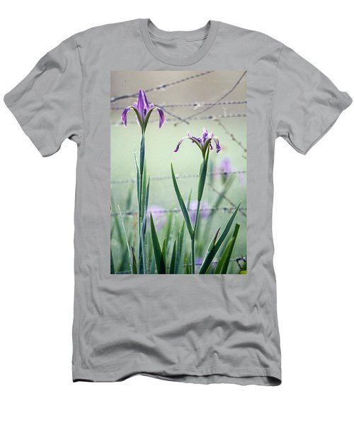 Irises2 Men's T-Shirt (Athletic Fit)