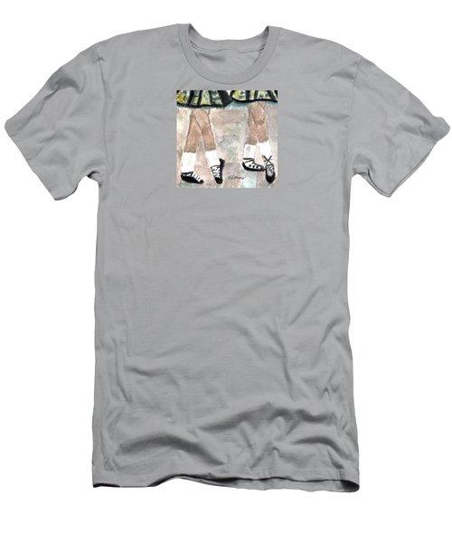 Irish Lasses Men's T-Shirt (Slim Fit) by Angela Davies