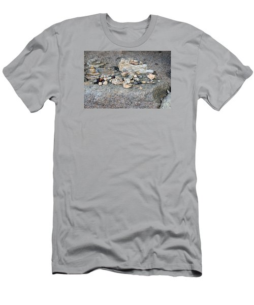 Men's T-Shirt (Slim Fit) featuring the photograph Ishi by Cassandra Buckley