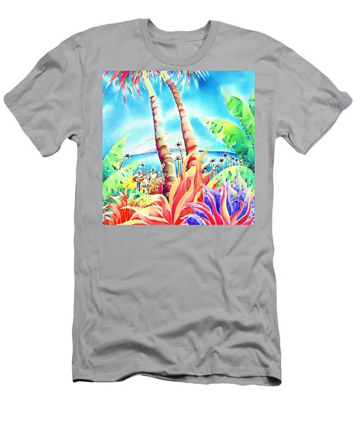 Island Of Music Men's T-Shirt (Athletic Fit)
