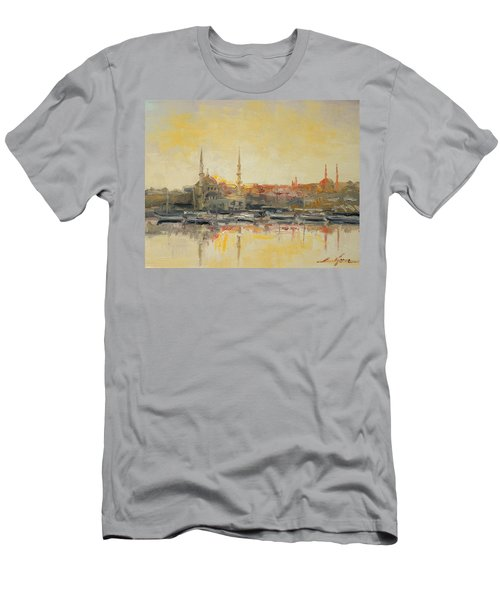 Istanbul- Hagia Sophia Men's T-Shirt (Athletic Fit)
