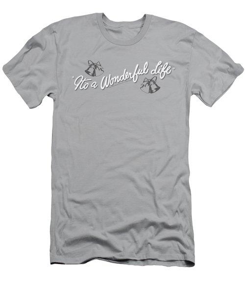It's A Wonderful Life - Logo Men's T-Shirt (Athletic Fit)