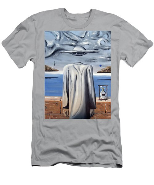 Men's T-Shirt (Athletic Fit) featuring the painting Its All In Your Head by Ryan Demaree