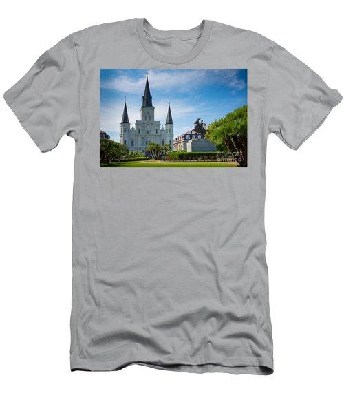 Jackson Square Men's T-Shirt (Athletic Fit)