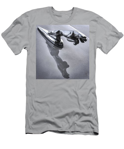 Jaguar Leaper And Reflection Men's T-Shirt (Athletic Fit)