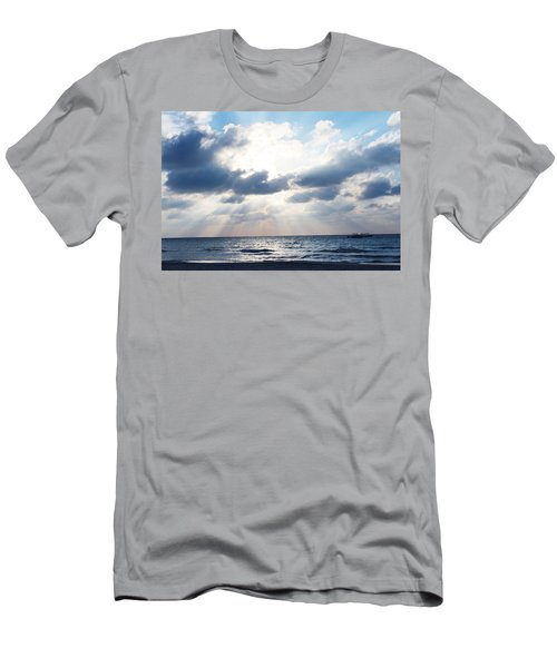 Jamaican Sunset2 Men's T-Shirt (Athletic Fit)
