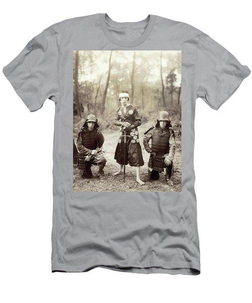 Men's T-Shirt (Slim Fit) featuring the photograph Japan Dancer, 1920s by Granger