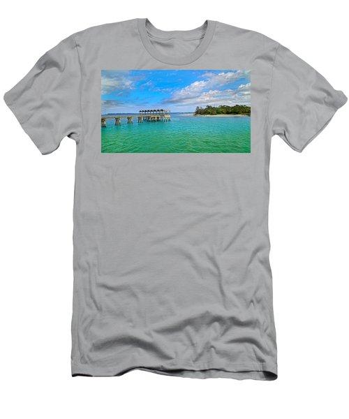Jekyll Island Just Like Paradise Men's T-Shirt (Athletic Fit)