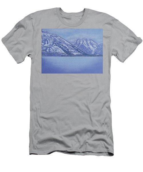 Jenny Lake - Grand Tetons Men's T-Shirt (Athletic Fit)