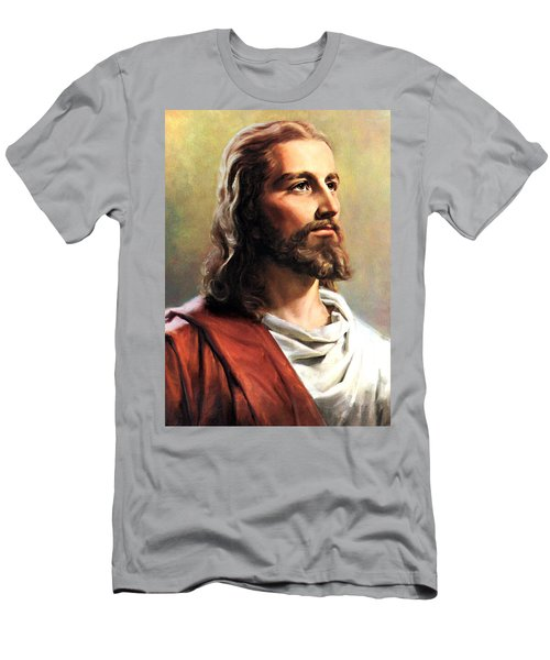 Jesus Christ Men's T-Shirt (Slim Fit) by Munir Alawi