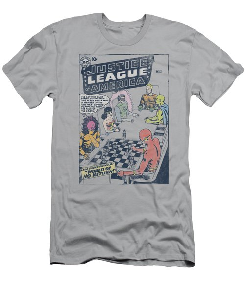 Jla - World Of No Return Men's T-Shirt (Athletic Fit)