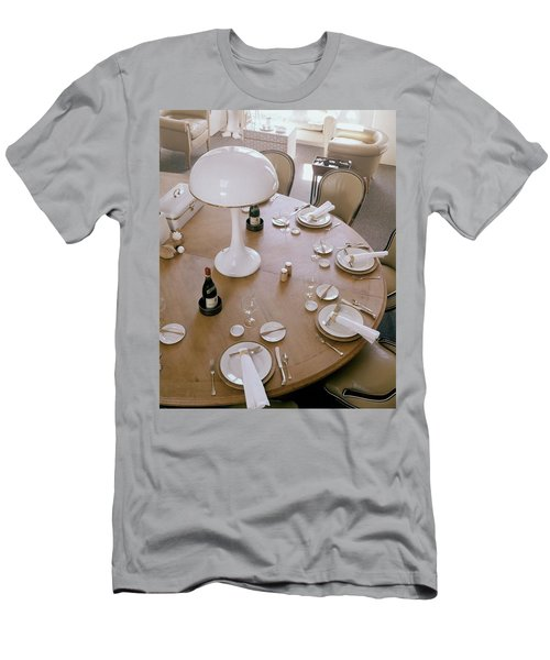 John Dickinson's Dining Table Men's T-Shirt (Athletic Fit)
