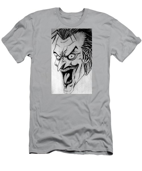 Men's T-Shirt (Slim Fit) featuring the painting Joker by Salman Ravish