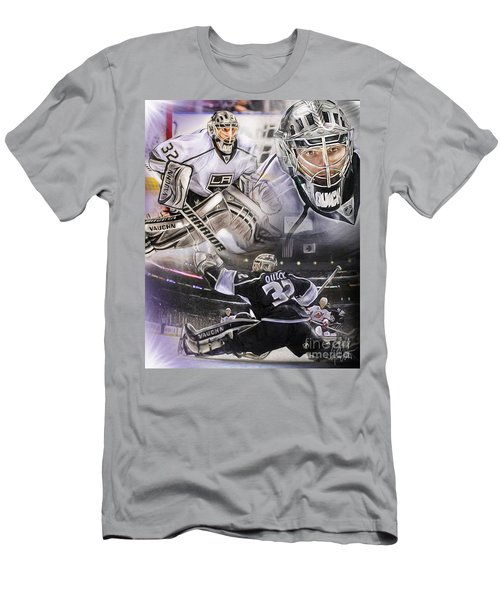 Jonathan Quick Collage Men's T-Shirt (Athletic Fit)
