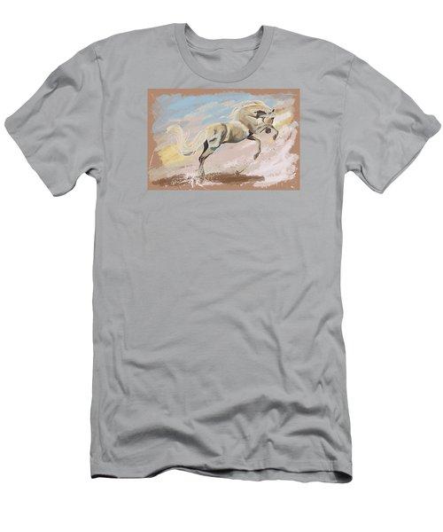 Joy Men's T-Shirt (Slim Fit) by Kate Black