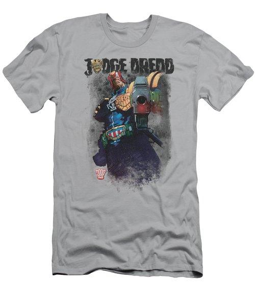 Judge Dredd - Last Words Men's T-Shirt (Athletic Fit)