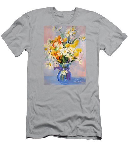 July Summer Arrangement  Men's T-Shirt (Athletic Fit)