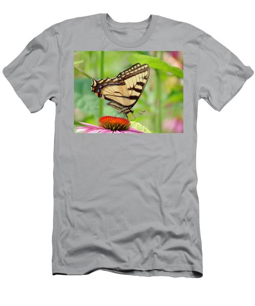 July Swallowtail Men's T-Shirt (Athletic Fit)