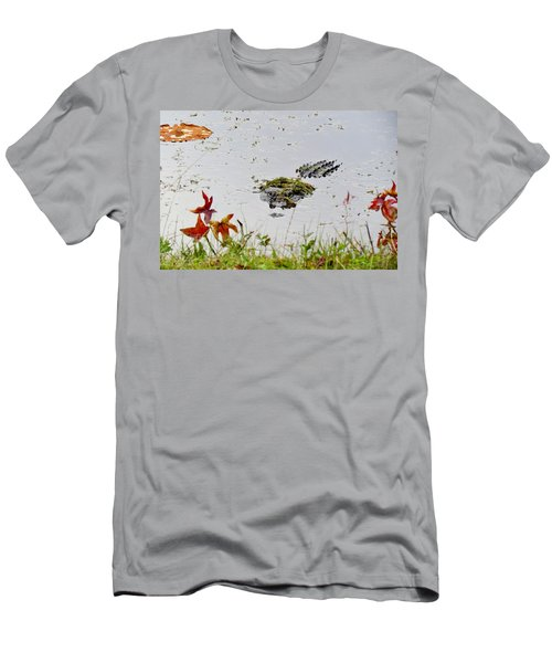 Men's T-Shirt (Slim Fit) featuring the photograph Just Hanging Out by Cynthia Guinn