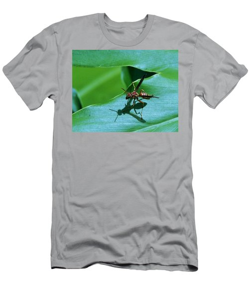 Men's T-Shirt (Slim Fit) featuring the photograph Just Me And My Shadow by John Glass