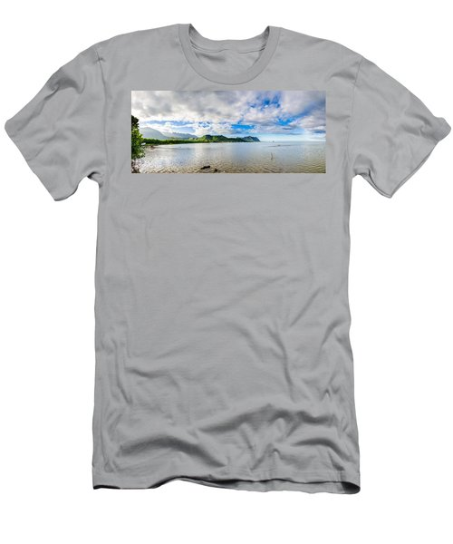 Kahaluu Fish Pond Panorama Men's T-Shirt (Athletic Fit)