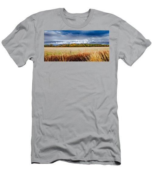 Kansas Fall Landscape Men's T-Shirt (Athletic Fit)