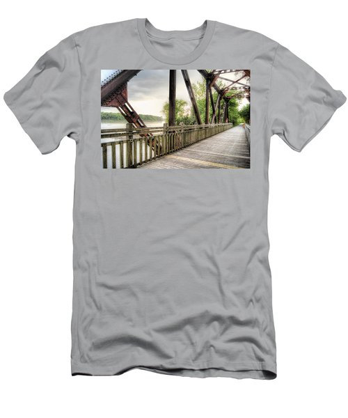 Katy Trail Near Easley Men's T-Shirt (Athletic Fit)