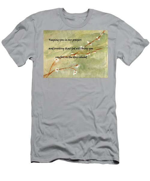 Keeping You In Our Prayers Men's T-Shirt (Athletic Fit)