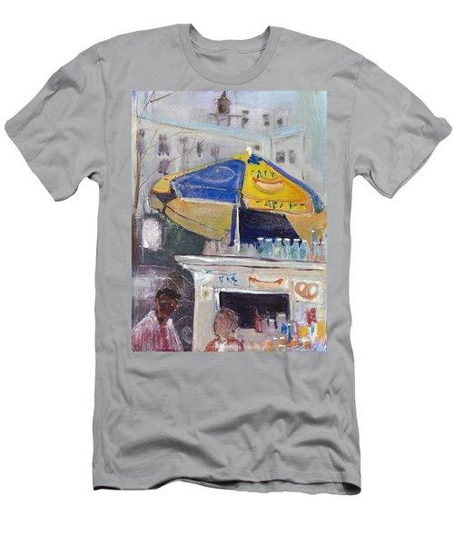 Ketchup Or Mustard Men's T-Shirt (Slim Fit) by Leela Payne