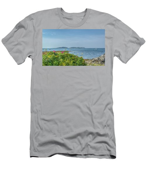 Men's T-Shirt (Slim Fit) featuring the photograph Kettle Cove by Jane Luxton