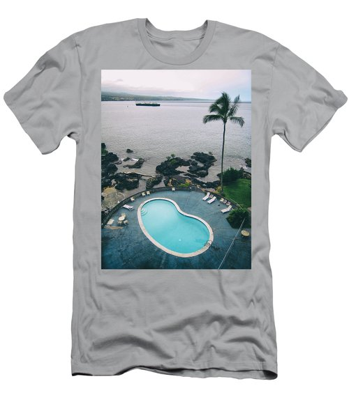 Kidney Pool In Paradise Men's T-Shirt (Athletic Fit)