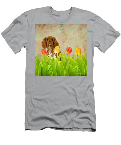 King Charles Cavalier Spaniel Men's T-Shirt (Athletic Fit)