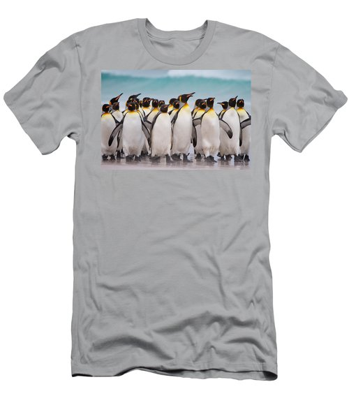 King Penguins Men's T-Shirt (Athletic Fit)