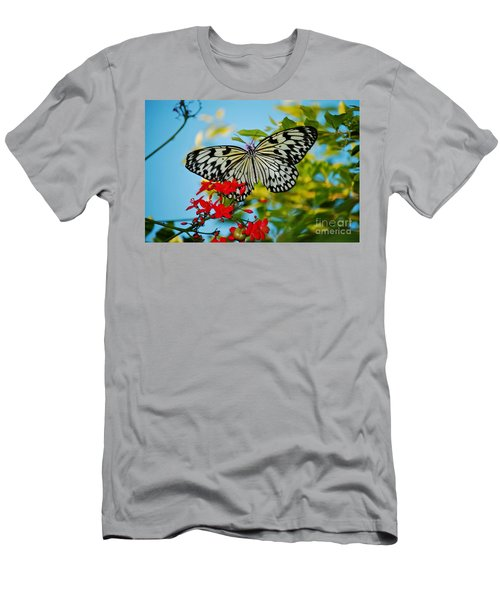 Kite Butterfly Men's T-Shirt (Athletic Fit)