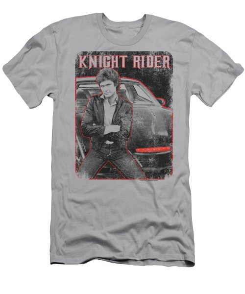 Knight Rider - Knight And Kitt Men's T-Shirt (Athletic Fit)