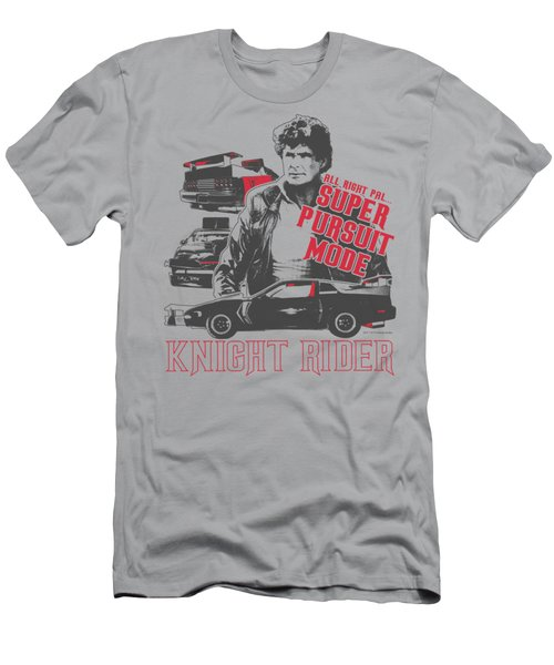 Knight Rider - Super Pursuit Mode Men's T-Shirt (Athletic Fit)