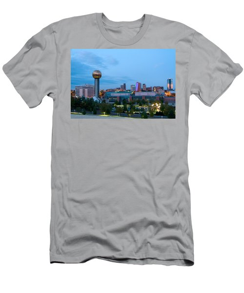 Knoxville At Dusk Men's T-Shirt (Athletic Fit)
