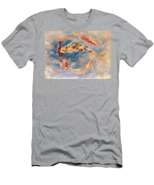 Koi Circle Men's T-Shirt (Athletic Fit)