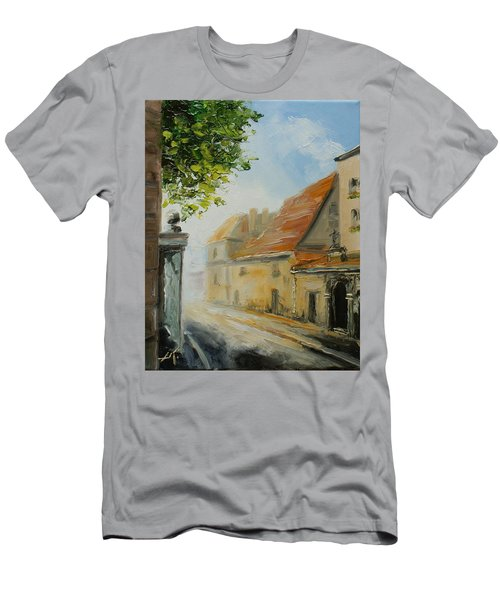 Krakow- Reformacka Street Men's T-Shirt (Athletic Fit)