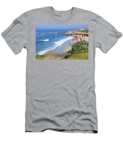 La Jolla Beach Men's T-Shirt (Athletic Fit)