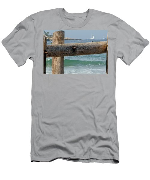 La Jolla Scene Men's T-Shirt (Slim Fit) by Susan Garren