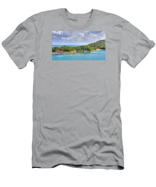 Labadee Men's T-Shirt (Slim Fit) by Shelley Neff