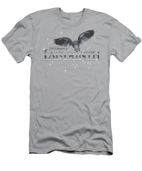 Labyrinth - Owl Logo Men's T-Shirt (Athletic Fit)