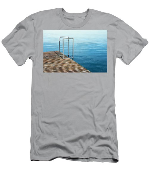 Men's T-Shirt (Slim Fit) featuring the photograph Ladder by Chevy Fleet