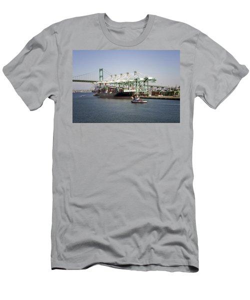 Lafd Fire Boat 2 San Pedro Ca 03 Men's T-Shirt (Athletic Fit)