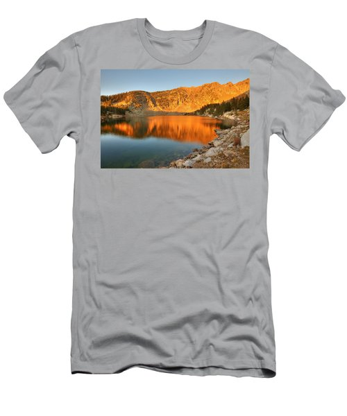 Lake Katherine Sunrise Men's T-Shirt (Athletic Fit)