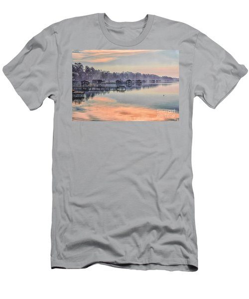 Lake Waccamaw Morning Men's T-Shirt (Athletic Fit)