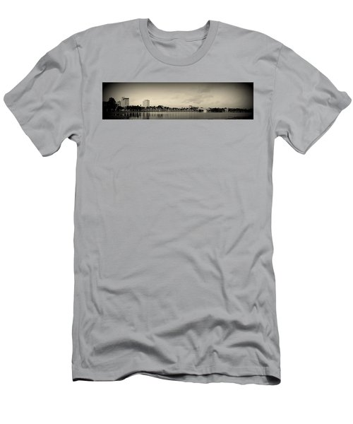 Men's T-Shirt (Slim Fit) featuring the photograph Lakeland by Laurie Perry