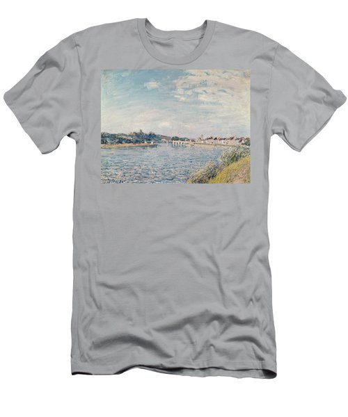 Landscape, 1888 Oil On Canvas Men's T-Shirt (Athletic Fit)